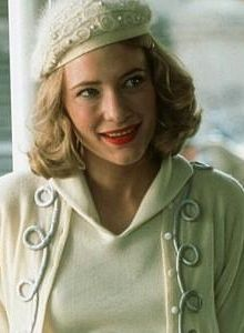Cate Blanchett in soft pastels a la 1950's fashions in,The Talented Mr. Ripley. Ann Roth an American costume designer won the Academy Award for Best Costume Design for The English Patient and was nominated for Places in the Heart, The Talented Mr. Ripley, and The Hours.