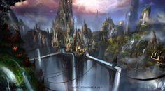 Fantasy Environment 1 by AlexRuizArt.deviantart.com on @deviantART