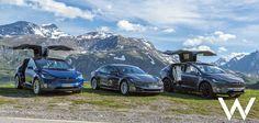 Roadtrippen door de bergen in een Tesla: het ultieme rijden?
