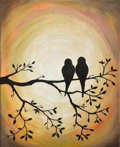 Autumn Birds. Oil on canvas. Elena Kolodko