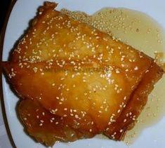 Φέτα σαγανάκι με φύλλο -μέλι-σουσάμι !!! ~ ΜΑΓΕΙΡΙΚΗ ΚΑΙ ΣΥΝΤΑΓΕΣ 2