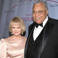 (Actress) Cecilia Hart and husband James Earl Jones (Actor)