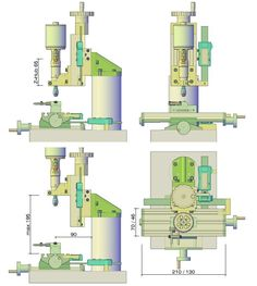 A small milling machine, or cutting on the desktop