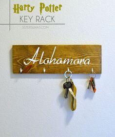 alohomora harry potter key rack