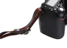 The Presidio Waxed Canvas and Leather Camera Strap