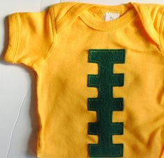 #Baylor football onesie.