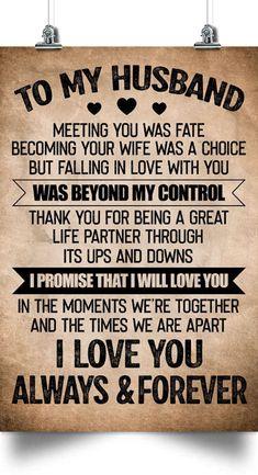 Love My Husband Quotes, Husband Love, Love Quotes For Him, Quotes For Kids, Happy Husband, Happy Wife, Sign Quotes, Wisdom Quotes, Happiness Quotes