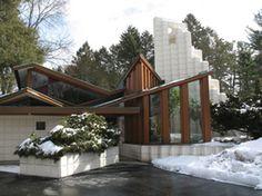 Alden B. Dow. Home and Studio. 1933. Midland, Michigan.
