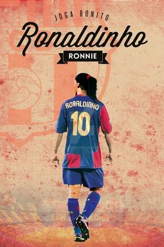 Ronaldinho Fc BARCELONA Best Football Players, World Football, Neymar, Messi, Xavi Barcelona, Soccer Photography, Joker Quotes, Number One, Champions League