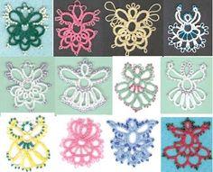 Crochet Christmas Tatting