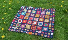 Image result for granny square baby blanket