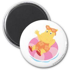 The Backyardigans - Tasha Floating. Regalos, Gifts. #imanes #magnets