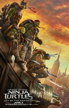 Watch the new trailer for Teenage Mutant Ninja Turtles: Out of the Shadows