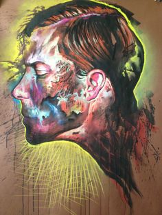 abstract chalk pastel paintings' - Google Search