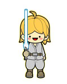 Kawaii Luke Skywalker