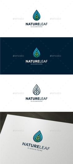 Nature Leaf Logo — Vector EPS #care #oil • Available here → https://graphicriver.net/item/nature-leaf-logo/19213176?ref=pxcr