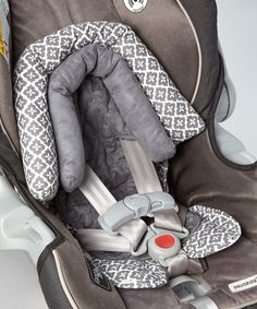 Love this Gray Duo Car Seat Head Support by Goldbug on #zulily! #zulilyfinds