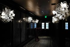 Most awesome blown glass lighting by andromeda murano.