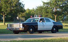 1978 Plymouth Fury Police car