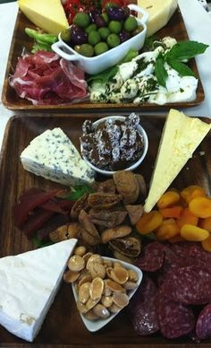 Cheese and Charcuterie Board by Forks and Fingers Catering