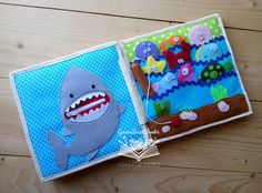Sea Quiet Book Toddler Activity Book Busy Soft Book