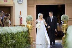 Entrada de Carol com seu pai! Março de 2016 Perotti Fotografias