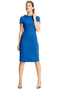 Betty Ottoman Dress WH773 Work at Boden: $148
