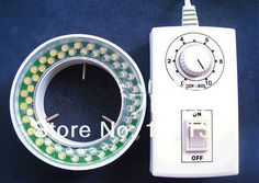 98.40$  Watch here - http://alitlo.worldwells.pw/go.php?t=32310194381 - 54pcs LEMD Lights Ring Lamp for Stereo Microscope with adapter 220 or 110V in Stock Microscope Parts 98.40$