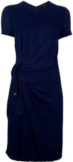 GUCCI Fitted Draped Dress