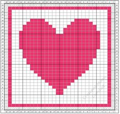 A heart is perfect for our February dishcloth and will be great to use all year round! Get the free pattern here and crochet along with us. #crochet #fiber