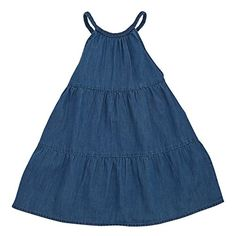 Mud Pie Little Girls Braided Denim Dress 3T -- Check this awesome product by going to the link at the image.Note:It is affiliate link to Amazon. #tagblender