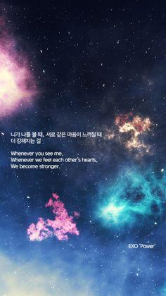 New Quotes Lyrics Exo Kpop Ideas Lyrics Deep, Pop Lyrics, K Pop, Korean Phrases, Korean Words, K Quotes, Song Quotes, K Wallpaper, Wallpaper Quotes