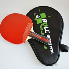 Brand Quality Table Tennis Rackets Pimples-in Rubber Bat for Fast Attack and Loop or Chop Type Player Low Price Racket -- Want to know more, click on the image.