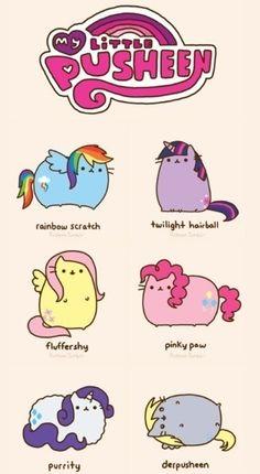 My little Pusheen! Pusheen is now a my little pony! :) So cute! Gato Pusheen, Pusheen Love, Pusheen Unicorn, Kawaii Drawings, Cute Drawings, Crazy Cat Lady, Crazy Cats, Chat Kawaii, Kawaii Cat