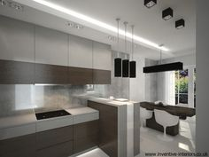 Clean style and simple kitchen designs