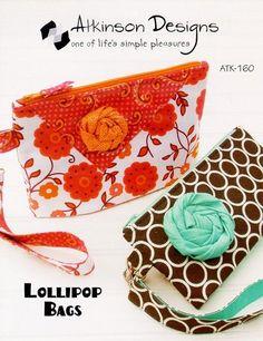 LOLLIPOP BAGS Pattern, Atkinson Designs ATK-160 #AtkinsonDesigns