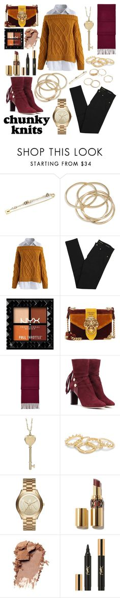 """Summer's end"" by j-k-mirsa ❤ liked on Polyvore featuring Alexis Bittar, ABS by Allen Schwartz, Chicwish, Yves Saint Laurent, Prada, Aspinal of London, Jimmy Choo, Tiffany & Co. and Michael Kors"