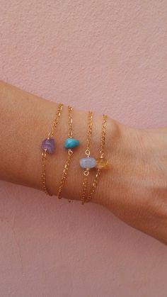 Bracelets – Page 5 Bracelets Fins, Dainty Bracelets, Gemstone Bracelets, Jewelry Bracelets, Geek Jewelry, Jewelry Design, Unique Jewelry, Gothic Jewelry, Style Minimaliste