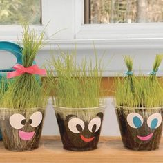 Science project meets craft project! Have some fun with your plants by turning them into an art activity.
