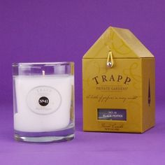 LOVE this one. Sounds crazy, but it has a cool smell. Love it. Trapp candle in No. 41 Black Pepper