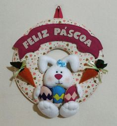 Guirlanda Decorativa de Páscoa