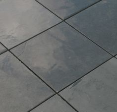 "Cabot Slate Tile Montauk Black / Natural Cleft / 12""x12"""