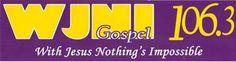 Free WJNI 106.3 FM Bumper Sticker
