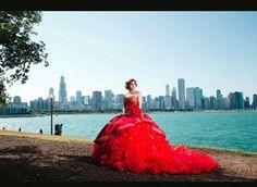 Joelin Garcia Ayala Chicago,IL Vestido: Alborada de Adan Terriquez Fotografia: http://www.redjweddings.com/