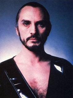 General Zod (from Superman II, 1980). Portrayed by Terence Stamp