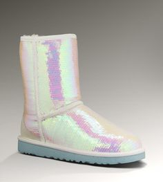 They actually have wedding uggs..... this almost makes me want a winter wedding, lol no one judge me if i wear them in fall ;0 Women's Sparkles I do! By UGG Australia