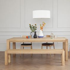 Heal's Natural Dining Table Oak - 50%off