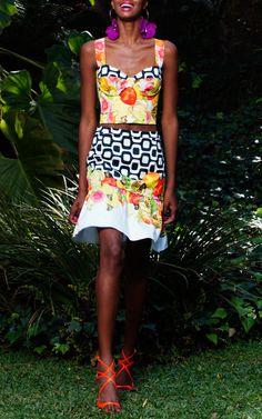 Isolda Spring/Summer 2014 Trunkshow Look 3 on Moda Operandi