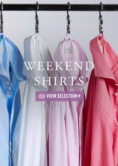5 shirts for the weekend