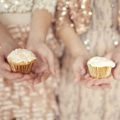 Bridesmaids and Glitter Cupcakes, oh my